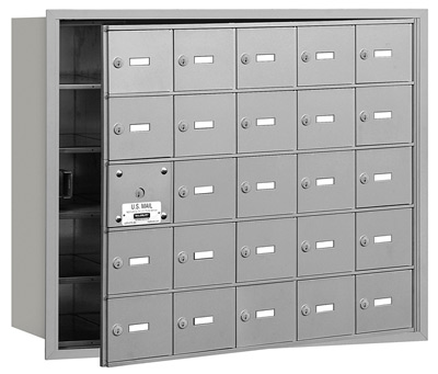 3625 Front Loading Salsbury Horizontal Mailboxes