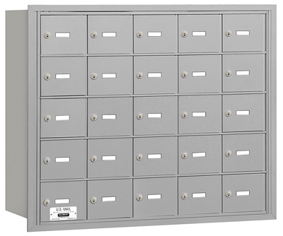 3625 Rear Loading Salsbury Horizontal Mailboxes