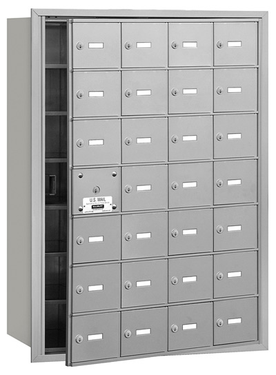 28 Door Front Loading 3628 Salsbury 4B+ Horizontal Mailboxes
