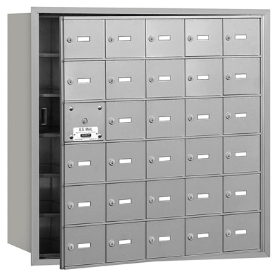 3630 Front Loading Salsbury Horizontal Mailboxes
