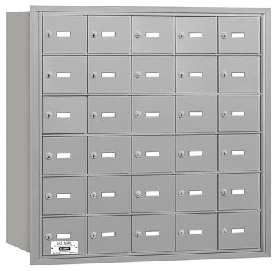 30 Door Rear Loading 3630 Salsbury 4B+ Horizontal Mailboxes
