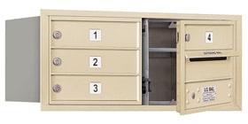 Salsbury 4C Mailboxes 3703D-04 Sandstone