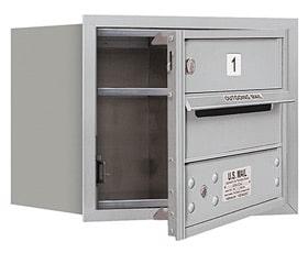 Salsbury 4C Mailboxes 3703S-01 Aluminum