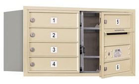 Salsbury 4C Mailboxes 3704D-06 Sandstone