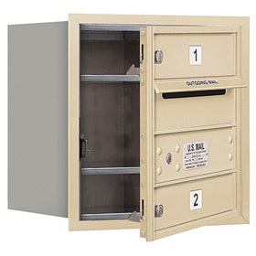 Salsbury 4C Mailboxes 3704S-02 Sandstone