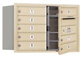 Salsbury 4C Mailboxes 3705D-08 Sandstone