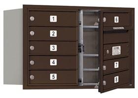Salsbury 4C Mailboxes 3705D-08 Bronze