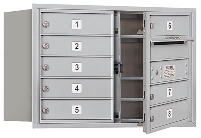 3705D08 Front Loading Commercial 4C Mailboxes