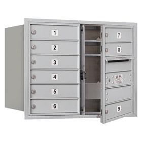 Salsbury 4C Mailboxes 3706D-09 Aluminum