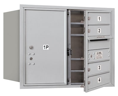 3706D04 Front Loading Commercial 4C Mailboxes