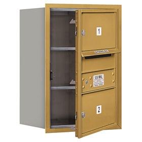 Salsbury 4C Mailboxes 3706S-02 Gold