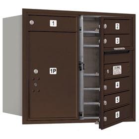 Salsbury 4C Mailboxes 3707D-06 Bronze