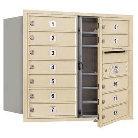 Salsbury 4C Mailboxes 3707D-12 Sandstone