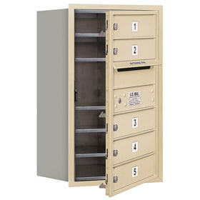 Salsbury 4C Mailboxes 3707S-05 Sandstone