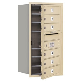Salsbury 4C Mailboxes 3708S-06 Sandstone