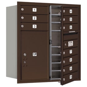 Salsbury 4C Mailboxes 3709D-10 Bronze