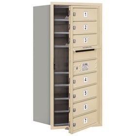 Salsbury 4C Mailboxes 3709S-07 Sandstone