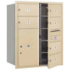 Salsbury 4C Mailboxes 3710D-06 Sandstone