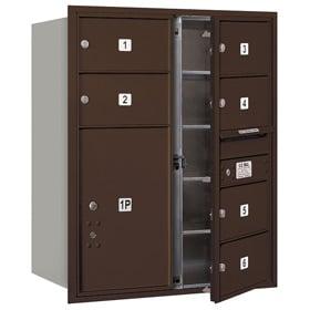 Salsbury 4C Mailboxes 3710D-06 Bronze