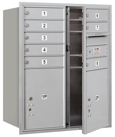 3710D08 Front Loading Commercial 4C Mailboxes