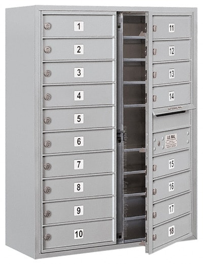3710D18 Surface Mount Commercial 4C Mailboxes