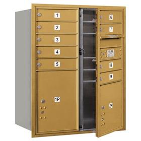 Salsbury 4C Mailboxes 3710DA-09 Gold