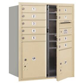 Salsbury 4C Mailboxes 3710DA-09 Sandstone