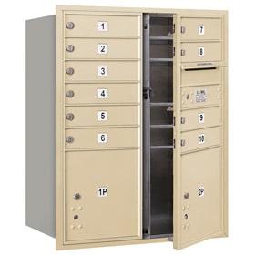 Salsbury 4C Mailboxes 3710DA-10 Sandstone