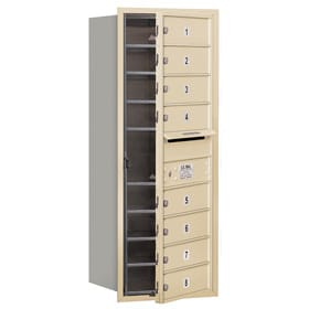 Salsbury 4C Mailboxes 3710S-08 Sandstone