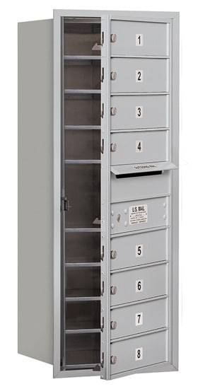 3710S08 Front Loading Commercial 4C Mailboxes