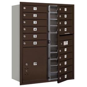 Salsbury 4C Mailboxes 3711D-15 Bronze