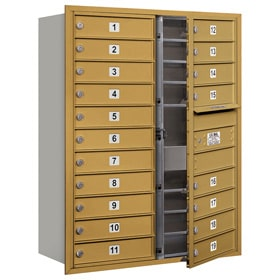 Salsbury 4C Mailboxes 3711D-19 Gold