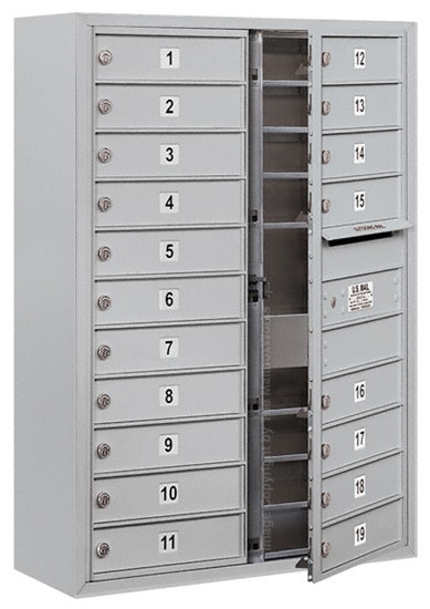 3711D19 Surface Mount Commercial 4C Mailboxes