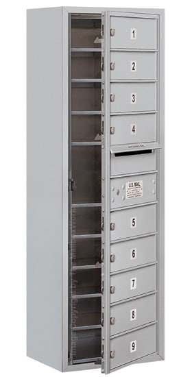 3711S09 Surface Mount Commercial 4C Mailboxes