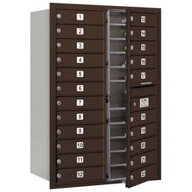 Salsbury 4C Mailboxes 3712D-22 Bronze