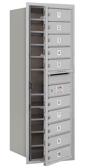 3712S10 Front Loading Commercial 4C Mailboxes