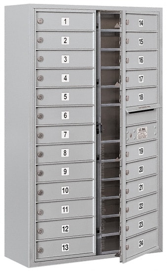 3713D24 Surface Mount Commercial 4C Mailboxes