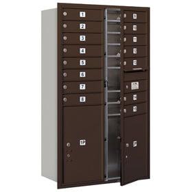 Salsbury 4C Mailboxes 3714D-15 Bronze