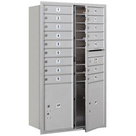 Salsbury 4C Mailboxes 3714D-16 Aluminum