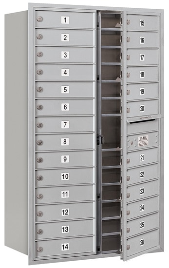 3714D26 Front Loading Commercial 4C Mailboxes