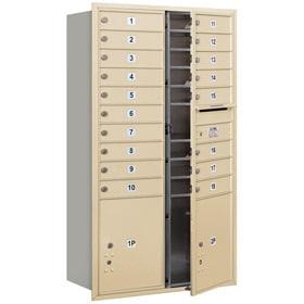 Salsbury 4C Mailboxes 3715D-18 Sandstone