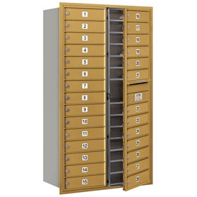 Salsbury 4C Mailboxes 3715D-28 Gold