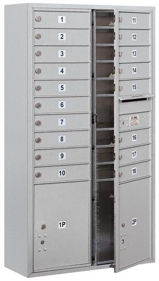 3715D18 Surface Mount Commercial 4C Mailboxes