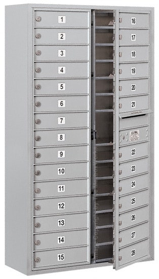 3715D28 Surface Mount Commercial 4C Mailboxes