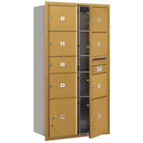Salsbury 4C Mailboxes 3716D-07 Gold
