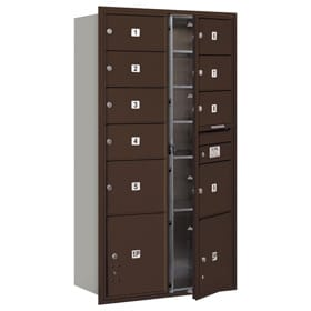 Salsbury 4C Mailboxes 3716D-09 Bronze