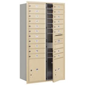 Salsbury 4C Mailboxes 3716D-19 Sandstone
