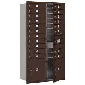 Salsbury 4C Mailboxes 3716D-19 Bronze