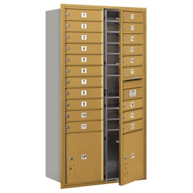 Salsbury 4C Mailboxes 3716D-20 Gold