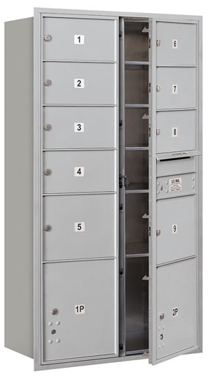 3716D09 Front Loading Commercial 4C Mailboxes